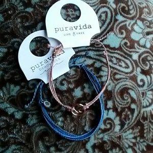2 New PuraVida Bracelets